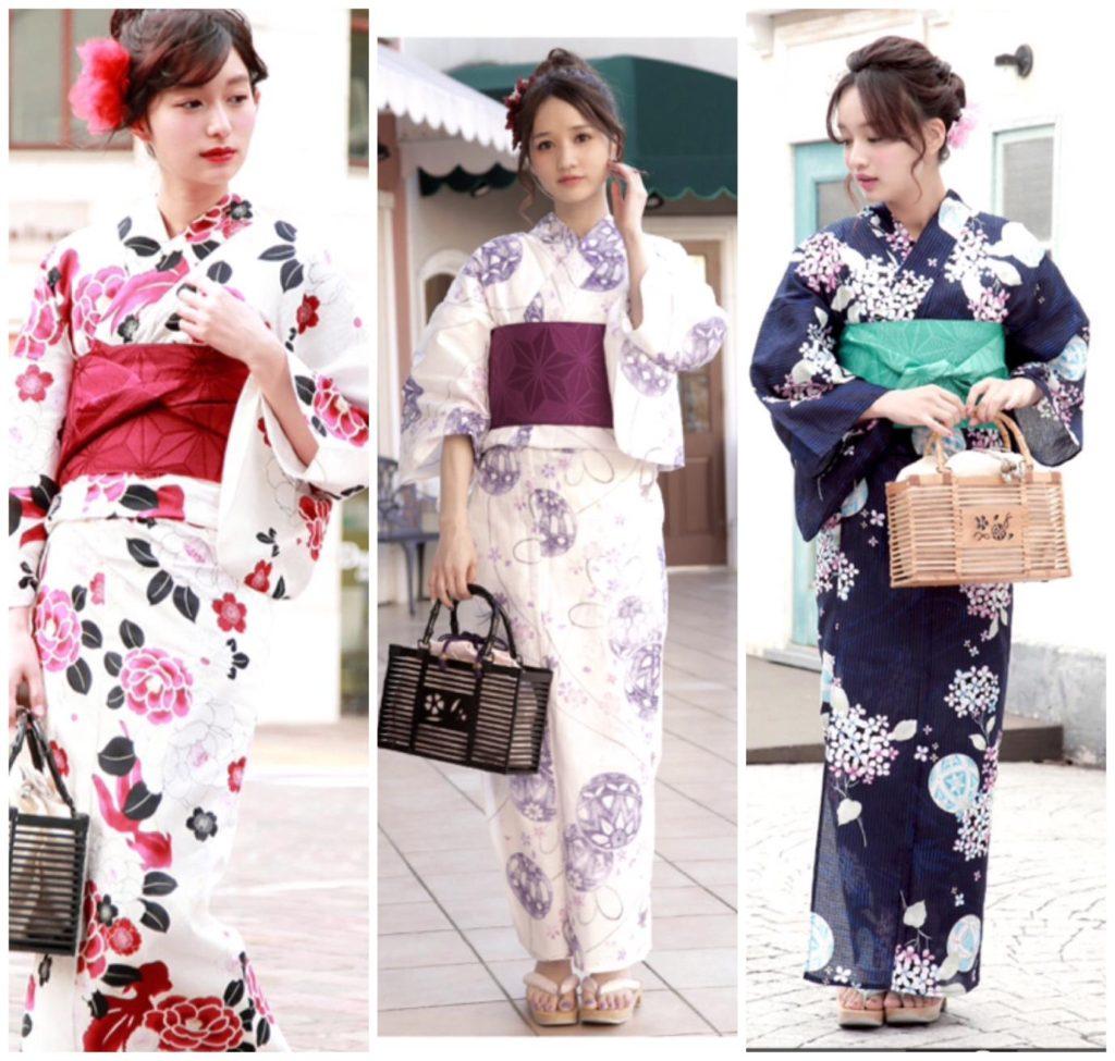 Yukata/ kimono mùa hè