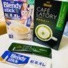 Trà sữa gói ở Nhật