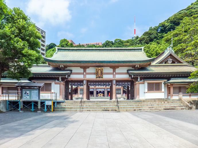 Nên đi chùa nào ở tỉnh Kagoshima vào đầu năm???